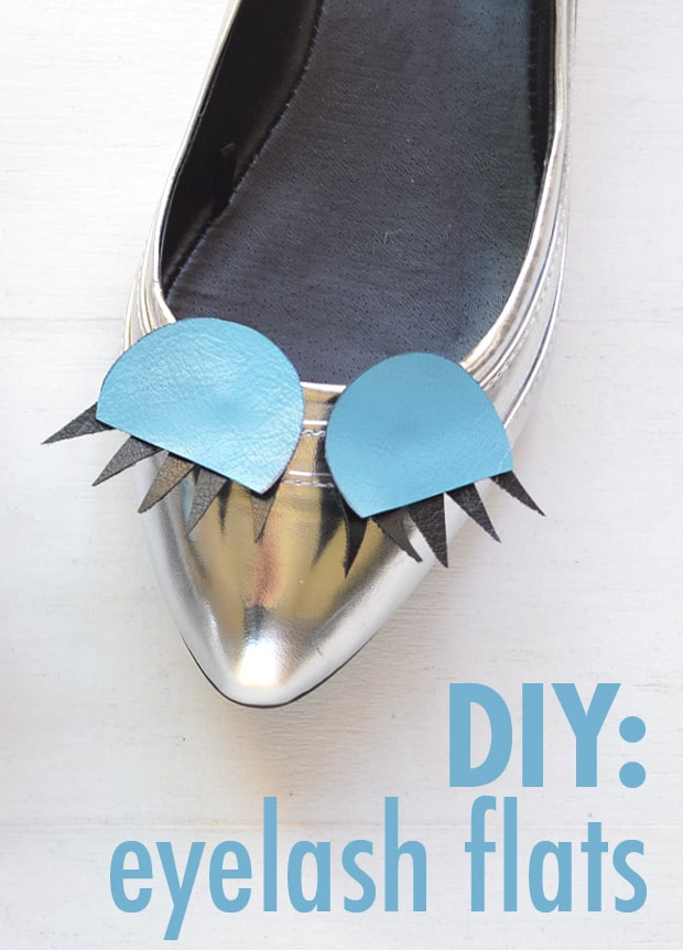 DIY-Fashion-Eyelash-Flats-shoes-pinterest