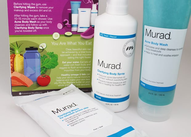 Murad Acne Body products 1 Body Acne? Murad can help