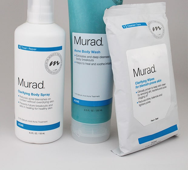 Murad Acne Body products 2 Body Acne? Murad can help