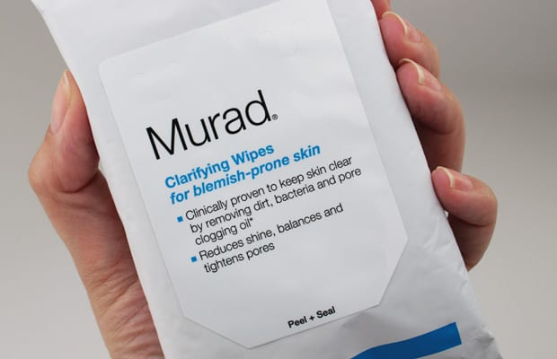 Murad Clarifying wipes 8 Body Acne? Murad can help