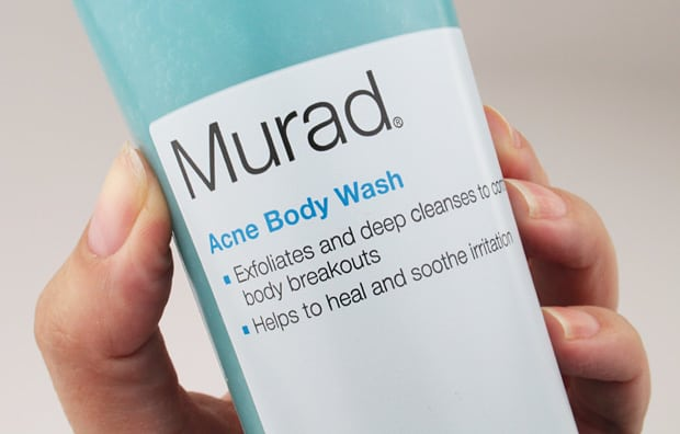 Murad acne body wash review 5 Body Acne? Murad can help