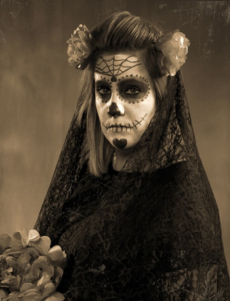 Day of the Dead Halloween Costume 3 Things:  Halloween Costumes