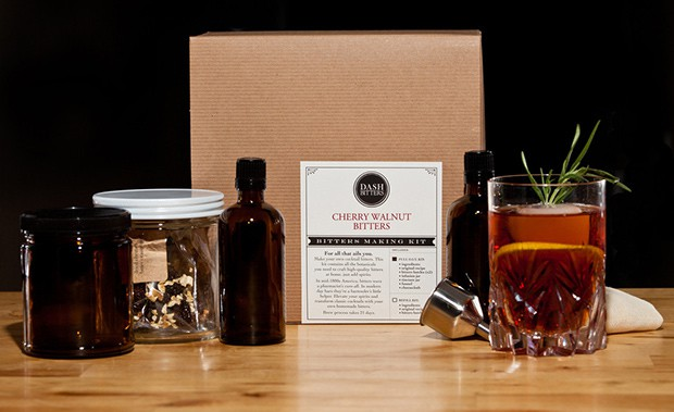 Cherry Walnut Bitters Making Kit 2015 Gift Guide: Cocktail Aficionado