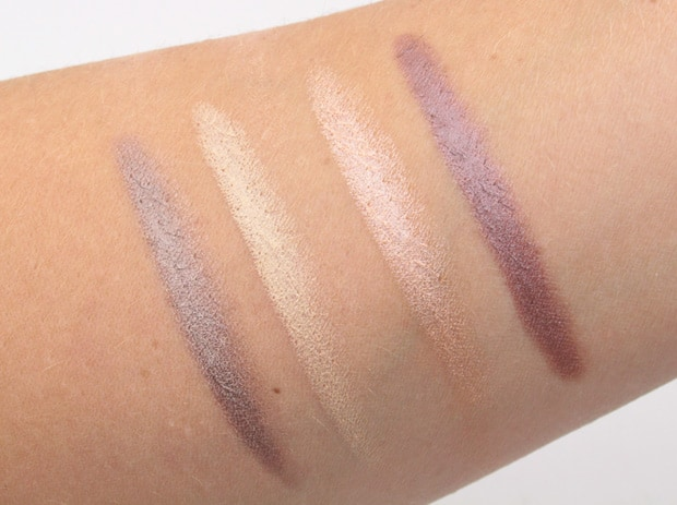Nude Stix Magnetic Eye Color Twilight swatches 10 Nudestix Concealer Pencil, Sculpting Pencil and Magnetic Eye Color