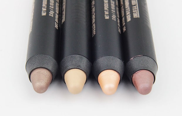 Nude Stix Magnetic Eye Color swatches Spirit 9 Nudestix Concealer Pencil, Sculpting Pencil and Magnetic Eye Color