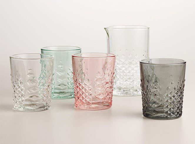 World Market Carats Drinkware 2015 Gift Guide: Cocktail Aficionado