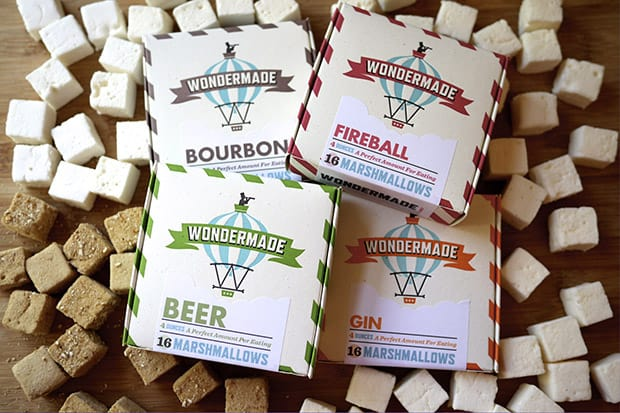 boozy marshmallows 2015 Gift Guide: Cocktail Aficionado