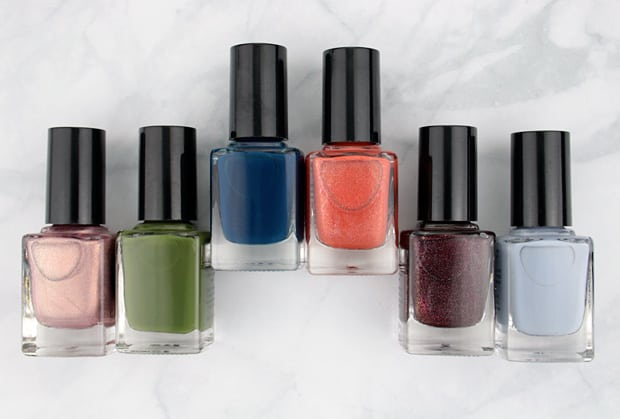 Cirque Opening Ceremony nail lacquer 2 Cirque Colors Nordstrom Holiday 2015
