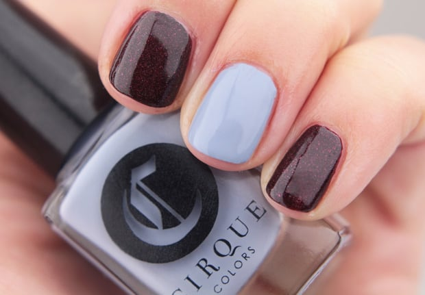 Cirque Opening Ceremony nail lacquer Oporto 14 Cirque Colors Nordstrom Holiday 2015