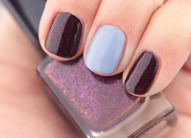 Cirque Opening Ceremony nail lacquer Strom King 14 Cirque Colors Nordstrom Holiday 2015
