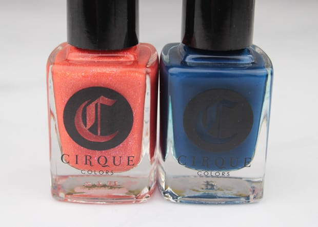 Cirque Opening Ceremony nail lacquer Tangerine Dream 7 Cirque Colors Nordstrom Holiday 2015