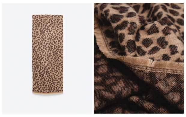 gift guide fashionista animal print scarf 2015 Gift Guide: For the Fashionista