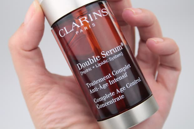 Clarins Double Serum review 2 Clarins Double Serum and Multi Active Day Cream review