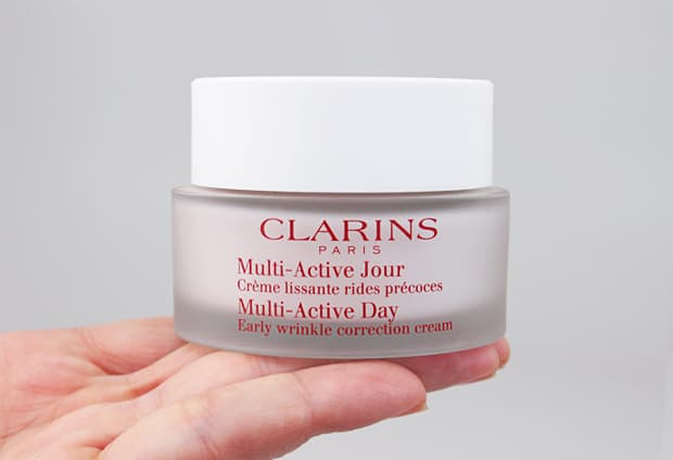 Clarins multi active day cream review 2 Clarins Double Serum and Multi Active Day Cream review
