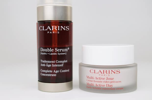 Clarins multi active day cream review Clarins Double Serum and Multi Active Day Cream review