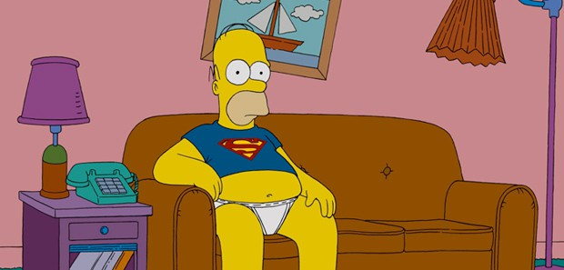 Homer in Underpants 3 Things:  Netflix and Chill