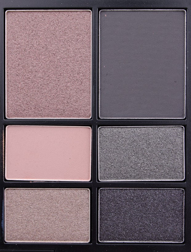 NARS NARSissist LAmour Toujours Eyeshadow Palette swatches 10 NARSissist LAmour, Toujours LAmour Eyeshadow Palette review & NARSissist Cheek Studio Palette review