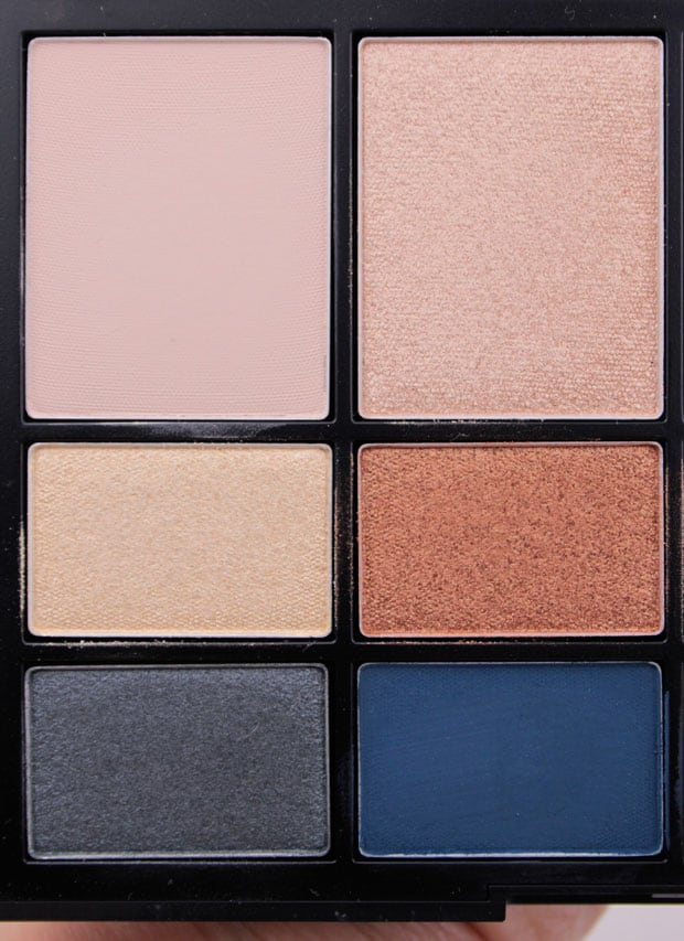 NARS NARSissist LAmour Toujours Eyeshadow Palette swatches 7 NARSissist LAmour, Toujours LAmour Eyeshadow Palette review & NARSissist Cheek Studio Palette review