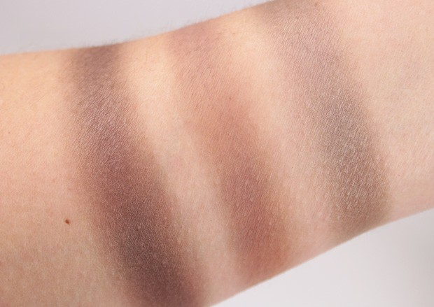 NARS NARSissist LAmour Toujours Eyeshadow Palette swatches 8 NARSissist LAmour, Toujours LAmour Eyeshadow Palette review & NARSissist Cheek Studio Palette review
