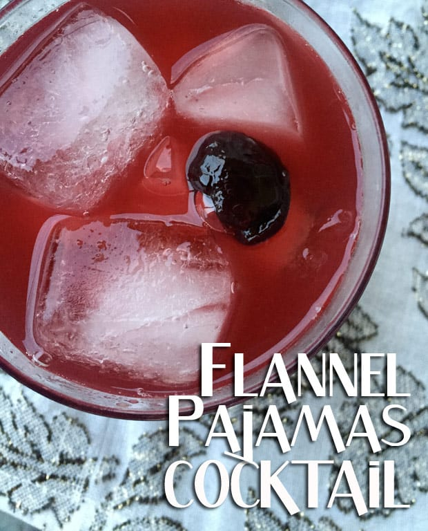 Whiskey Cocktail recipe 1 Flannel Pajamas   Whiskey Cocktail Recipe