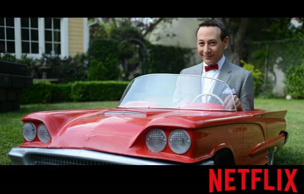 Netflix and Beautify pee wees big holiday Netflix and Beautify: March 2016