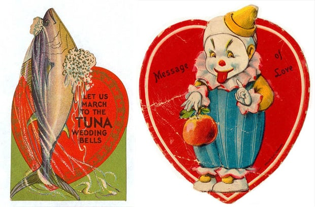 creepy vintage valentine 3 Things: Cupid, Draw Back Your Bow