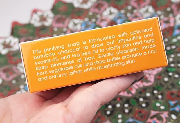 Lather charcoal bar review 4 LATHER Charcoal & Tea Tree cleansing bar review