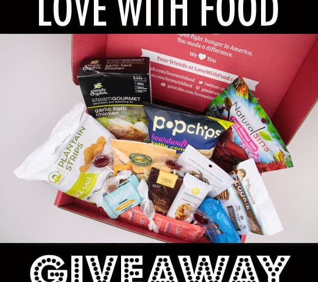 SNACKS RULE! Love with Food subscription box GIVEAWAY