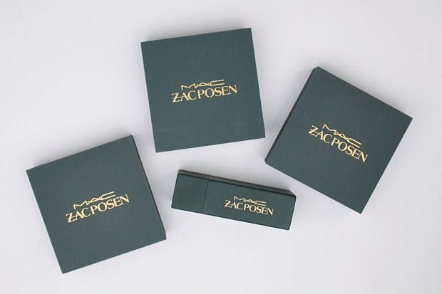 MAC Zac Posen packaging 3 MAC Zac Posen swatches and review