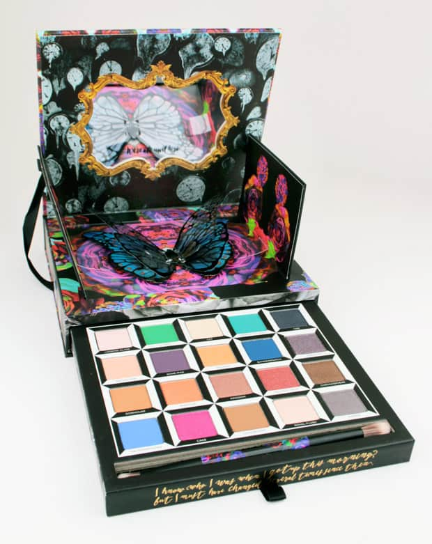 Urban Decay Alice Through the Looking Glass eye shadow palette 8 Urban Decay Alice Through the Looking Glass eye shadow palette and lipstick   swatches and review (PIC HEAVY)