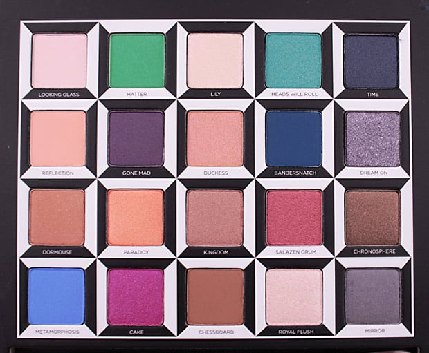 Urban Decay Alice Through the Looking Glass eye shadow palette swatches 9 Urban Decay Alice Through the Looking Glass eye shadow palette and lipstick   swatches and review (PIC HEAVY)