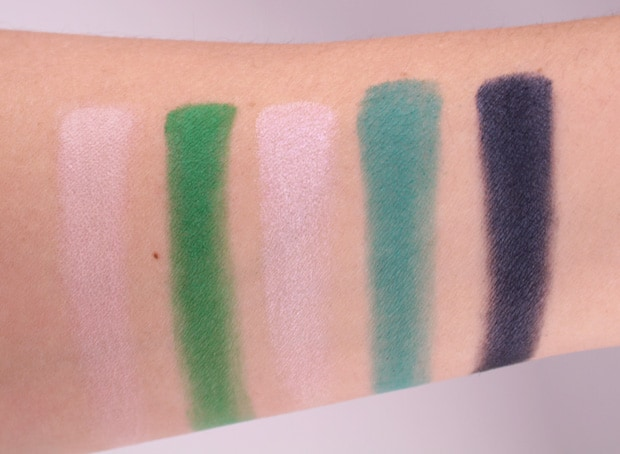 Urban Decay Alice Through the Looking Glass eye shadow palette swatches heads will roll 12 Urban Decay Alice Through the Looking Glass eye shadow palette and lipstick   swatches and review (PIC HEAVY)