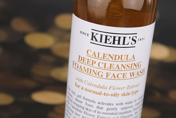 kiehls Calendula foaming face wash 4 Kiehls Calendula Deep Cleansing Foaming Face Wash Review