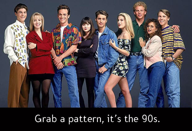 BEVERLY HILLS 90210 1990 3 Things: I heart the 90s, TV edition