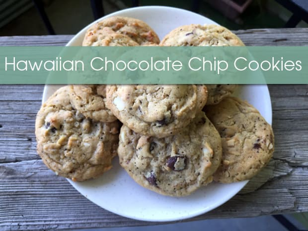 Hawaiian Chocolate Chip Cookies recipe