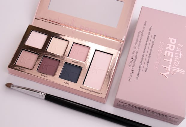 IT Cosmetics Naturally Pretty Essentials Palette 1 IT Cosmetics Naturally Pretty Essentials Matte Luxe Transforming Eyeshadow Palette review