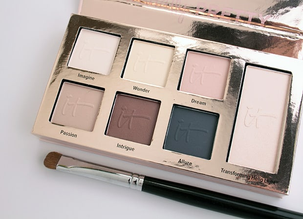 IT Cosmetics Naturally Pretty Essentials Palette 3 IT Cosmetics Naturally Pretty Essentials Matte Luxe Transforming Eyeshadow Palette review