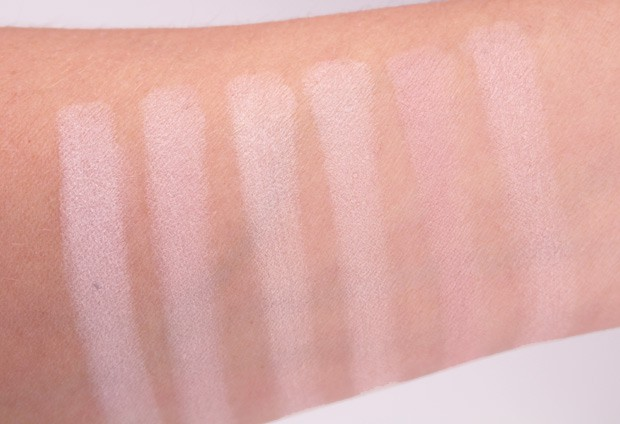 IT Cosmetics Naturally Pretty Essentials Palette swatches 5 IT Cosmetics Naturally Pretty Essentials Matte Luxe Transforming Eyeshadow Palette review