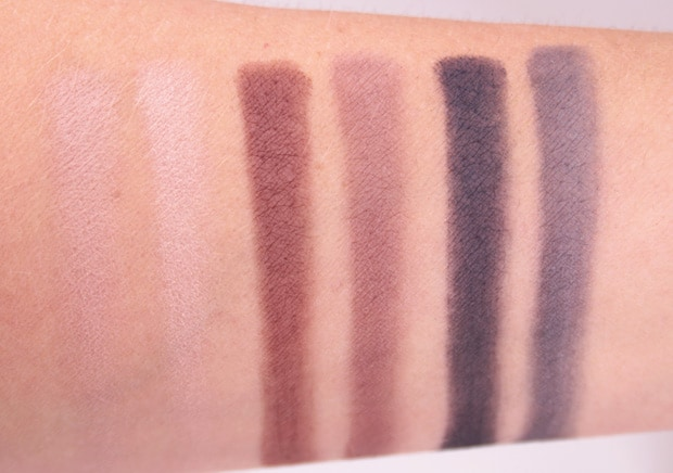 IT Cosmetics Naturally Pretty Essentials Palette swatches 6 IT Cosmetics Naturally Pretty Essentials Matte Luxe Transforming Eyeshadow Palette review