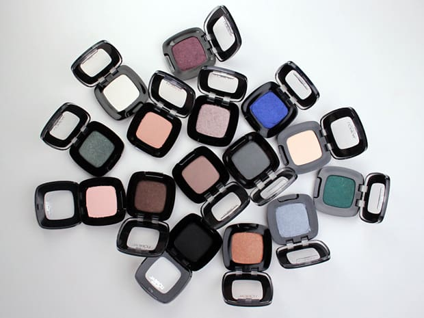 LOreal Colour Riche Mono Eye Shadow swatches 2 L'Oreal Colour Riche Mono Eye Shadow swatches and review