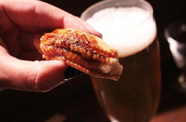 Q Sushi sea eel Unsurpassed Flavor: Q Sushi review