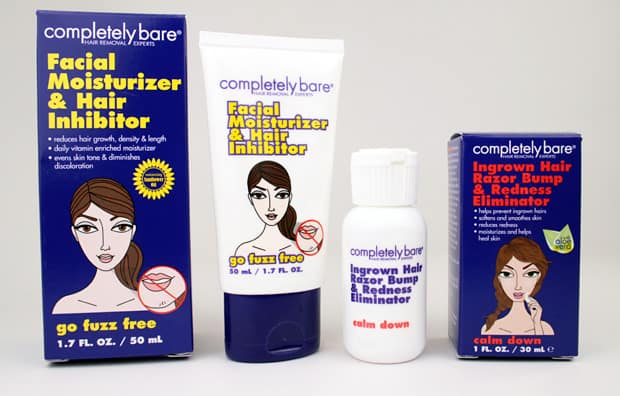 completely bare moisturizer hair inhibitor 3 Be a fuzz buster this summer with Completely Bare