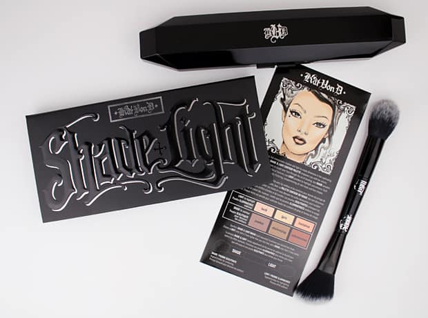 Kat Von D Shade Light Contour Palette 3 Tips for contouring: featuring the Kat Von D Shade + Light Contour Palette
