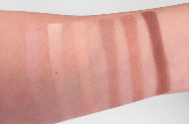 Kat Von D Shade Light Contour Palette swatches 4 Tips for contouring: featuring the Kat Von D Shade + Light Contour Palette