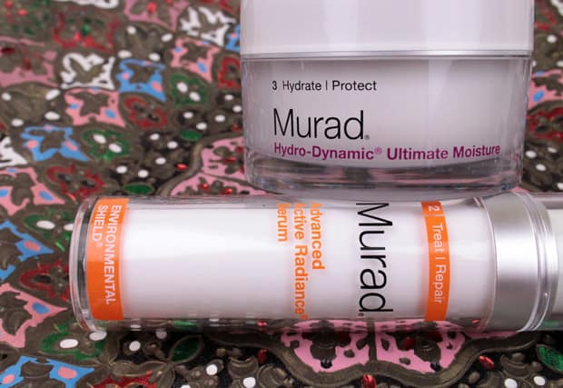 Murad Advanced Active Radiance Serum review and Hydro-Dynamic Ultimate Moisture