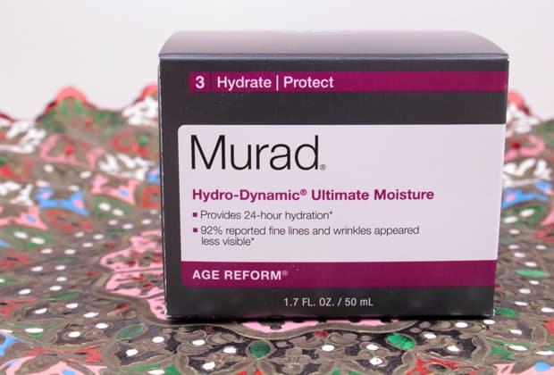 Murad Hydro Dynamic Ultimate Moisture review 2 Murad Advanced Active Radiance Serum review and Hydro Dynamic Ultimate Moisture