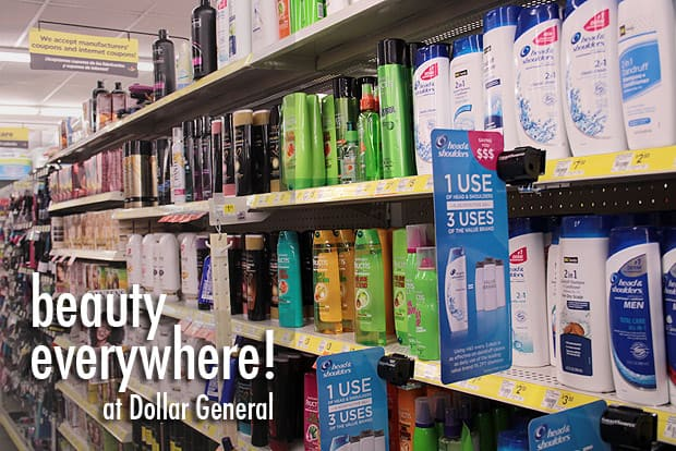 Dollar General 4 Beauty is where you find it and I found it at Dollar General