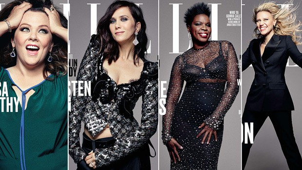 ghostbusters cast elle covers 3 Things: Summer Blockbusters