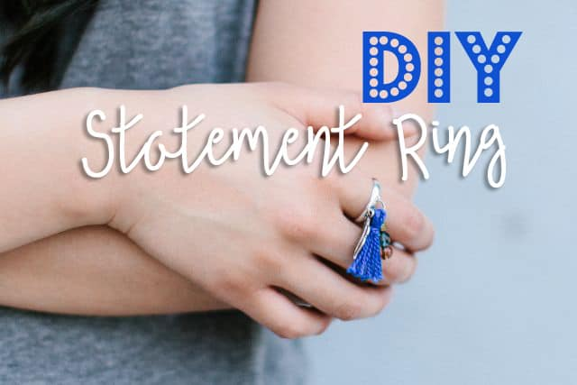 Easy DIY Jewelry Statement Ring 11 DIY Statement Ring