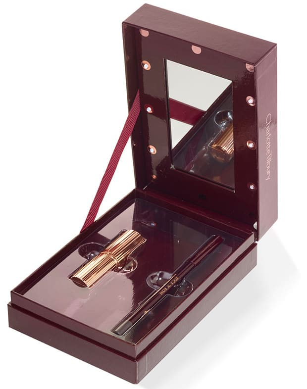 Charlotte Tilbury Film Noir Nights lipstick eyeliner duo Top Ten Holiday Beauty Must Haves for 2016